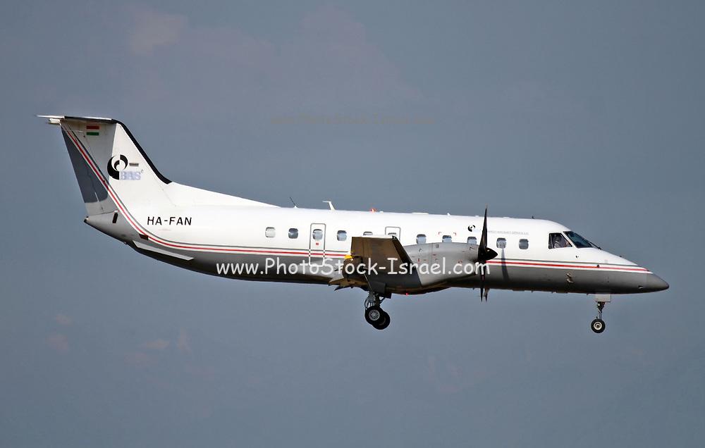 HA-FAN Budapest Air Service Embraer 120 Brasilia at Malpensa (MXP / LIMC), Milan, Italy