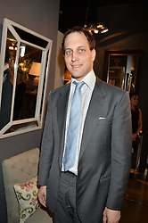 LORD FREDERICK WINDSOR at a party to celebrate the publication of 'Feeding The Future' by Lohralee Astor and Tali Shine held at OKA, 155-167 Fulham Road, London on 8th June 2016.