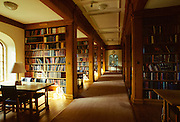 Library at Jesus College, Cambridge University, England, UK