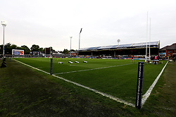 A general view of Headingley Carnegie Stadium, home of Yorkshire Carnegie and Leeds Rhinos - Mandatory by-line: Robbie Stephenson/JMP - 17/05/2017 - RUGBY - Headingley Carnegie Stadium - Leeds, England - Yorkshire Carnegie v London Irish - Greene King IPA Championship Final 1st Leg