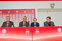 Tor Kristian Karlsen (Directeur general executif de l'AS Monaco) annonce sa demission du club 'pour raison personnelle'.