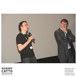 Robert Sarkies;Noah Cowan at the Toronto International Film Festival 2006 at the Paramount Theatre, Toronto, Ontario, Canada.