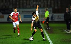 Perry Ng of Crewe Alexandra controls the ball - Mandatory by-line: Nizaam Jones/JMP - 28/11/2020 - FOOTBALL - Jonny-Rocks Stadium - Cheltenham, England - Cheltenham Town v Crewe Alexandra - Emirates FA Cup second round