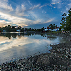 The North Mill Pond in Portsmouth, New Hampshire.