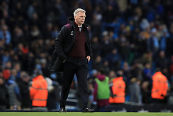 West Ham United manager David Moyes after the final whistle