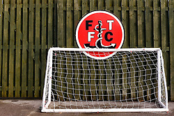 A general view of a childrens football goal inside Highbury Stadium  - Mandatory by-line: Matt McNulty/JMP - 14/01/2017 - FOOTBALL - Highbury Stadium - Fleetwood, England - Fleetwood Town v Bristol Rovers - Sky Bet League One