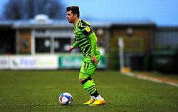 Nicky Cadden of Forest Green Rovers looks for a pass- Mandatory by-line: Nizaam Jones/JMP - 16/01/2021 - FOOTBALL - innocent New Lawn Stadium - Nailsworth, England - Forest Green Rovers v Port Vale - Sky Bet League Two