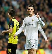 Real Madrid v Borussia Dortmund 020414