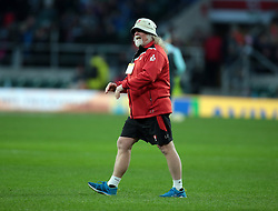 December 27, 2016 - London, England, United Kingdom - Laurie Fisher Head Coach of Gloucester Rugby during Aviva Premiership Rugby Big Game 9 match between Harlequins and Gloucester Rugby at The Twickenham Stadium, London on 27 Dec 2016  (Credit Image: © Kieran Galvin/NurPhoto via ZUMA Press)