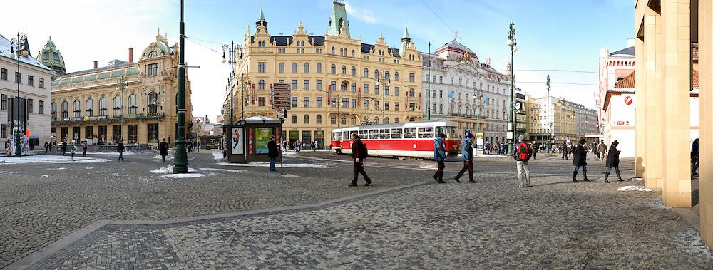 Prague, Czech Republic Panoramic cityscape