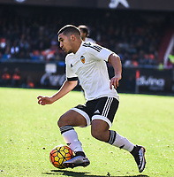 Valencia CF's   Bakkali  during La Liga match. January 17, 2016. (ALTERPHOTOS/Javier Comos)