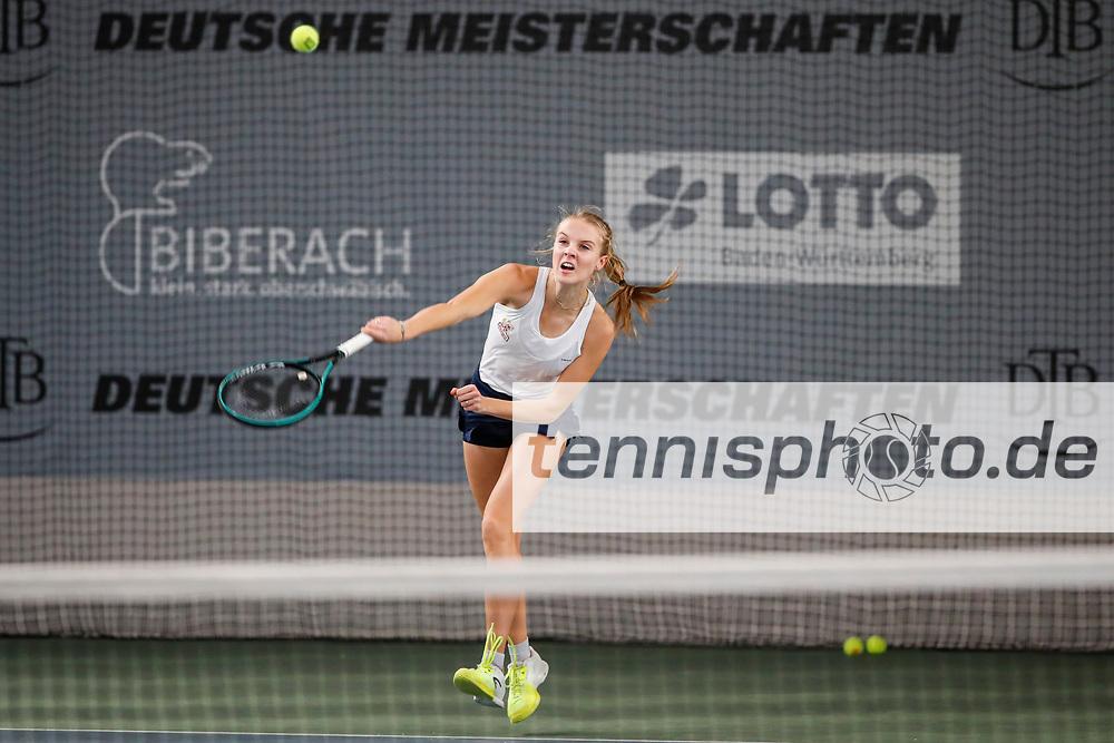 Deutsche Meisterschaften der Damen und Herren 2020 - Deutscher Tennis Bund e.V. am 7.12.2020 in Biberach (Bezirksstützpunk Biberach (WTB)), Deutschland, Foto: Mathias Schulz