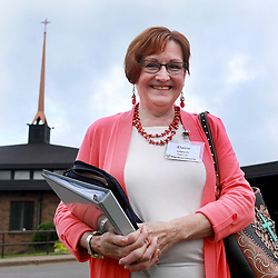 October 3, 2018 - Eagan, MN, USA - Elaine Loesch outside Peace Church on her way to Bible study Wednesday, Oct. 3, 2018,  in Eagan, MN. ''He's an excellent candidate,'' Loesch said about Supreme Court justice nominee Brett Kavanaugh . ''They are out to destroy him. That's what is so sad. They are willing to sacrifice a man's family and reputation and career.'']....DAVID JOLES • david.joles@startribune.com....Retired businesswoman Elaine Loesch calls the actions of disgraced movie Mogul Harvey Weinstein and convicted rapist Bill Cosby ''horrendous'' and she credits the #Metoo movement for bringing them to light. ..But Loesch, a Republican, said #Metoo has gone off the rails with the three-decade-old allegations against Supreme Court nominee Brett Kavanaugh. Loesch said she has not heard of any evidence that corroborates Christine Blasey Ford's account.**Elaine Loesch ,cq (Credit Image: © David Joles/Minneapolis Star Tribune via ZUMA Wire)