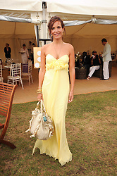 Asprey World Class Cup polo held at Hurtwood Park Polo Club, Ewhurst, Surrey on 17th July 2010.<br /> Picture shows:-SOPHIE ANDERTON