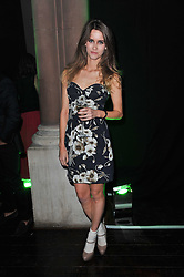 Sunday Girl JADE WILLIAMS at a party to launch the Dom Perignon Luminous label held at No.1 Mayfair, London on 24th May 2011.