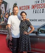 2018, Juli 30. Pathe ArenA, Amsterdam. Nederlandse premiere van Mission Impossible Fallout. Op de foto: Sonja Silva