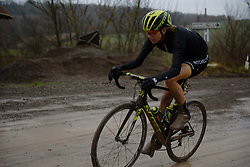 Lucy Kennedy at Strade Bianche - Elite Women 2018 - a 136 km road race on March 3, 2018, starting and finishing in Siena, Italy. (Photo by Sean Robinson/Velofocus.com)