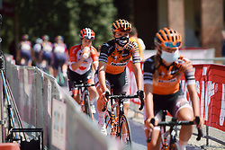 Chantal van den Broek-Blaak (NED) at Strade Bianche - Elite Women 2020, a 136 km road race starting and finishing in Siena, Italy on August 1, 2020. Photo by Sean Robinson/velofocus.com