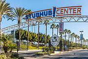 Stubhub Center Signage and Entrance