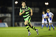 Forest Green Rovers Lewis Spurrier(10) during the The FA Youth Cup match between Bristol Rovers and Forest Green Rovers at the Memorial Stadium, Bristol, England on 2 November 2017. Photo by Shane Healey.