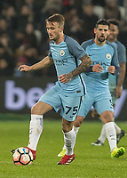 Football - 2016 / 2017 FA Cup - Third Round: West Ham United vs. Manchester City <br /> <br /> Aleix Garcia of Manchester City at The London Stadium.<br /> <br /> COLORSPORT/DANIEL BEARHAM