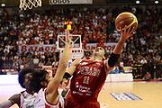 DESCRIZIONE : Pistoia Lega serie A 2013/14  Giorgio Tesi Group Pistoia Pesaro<br /> GIOCATORE : Pecile Andrea <br /> CATEGORIA : tiro sottomano<br /> SQUADRA : Pesaro Basket<br /> EVENTO : Campionato Lega Serie A 2013-2014<br /> GARA : Giorgio Tesi Group Pistoia Pesaro Basket<br /> DATA : 24/11/2013<br /> SPORT : Pallacanestro<br /> AUTORE : Agenzia Ciamillo-Castoria/M.Greco<br /> Galleria : Lega Seria A 2013-2014<br /> Fotonotizia : Pistoia  Lega serie A 2013/14 Giorgio  Tesi Group Pistoia Pesaro Basket<br /> Predefinita :