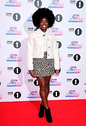 Clara Amfo attending BBC Radio 1's Teen Awards, at the SSE Arena, Wembley, London.