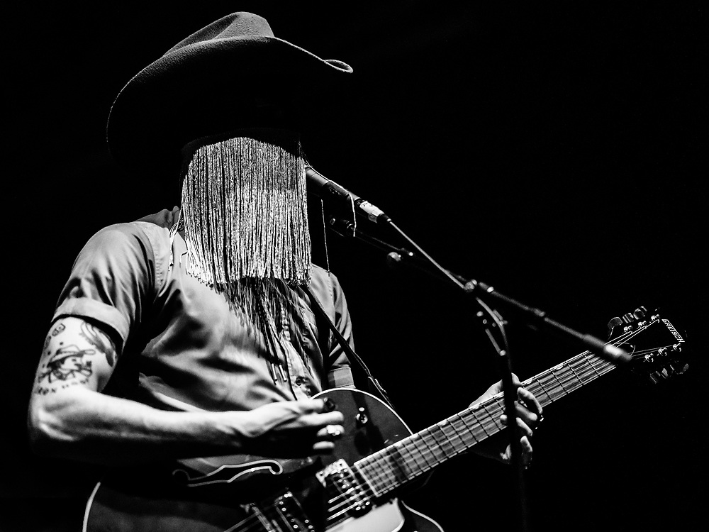 Canadian country musician Orville Peck at Iceland Airwaves