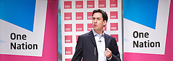 Rt Hon Ed Miliband MP, leader of the Labour Party during his speech at the Fabian Society Conference, Institute of Education, London, Great Britain,  January 12, 2013. Photo by Elliott Franks / i-Images.