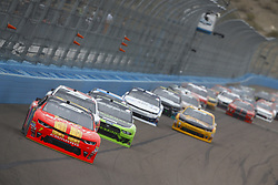 March 10, 2018 - Avondale, Arizona, United States of America - March 10, 2018 - Avondale, Arizona, USA: Justin Allgaier (7) brings his race car down the front stretch during the DC Solar 200 at ISM Raceway in Avondale, Arizona. (Credit Image: © Chris Owens Asp Inc/ASP via ZUMA Wire)