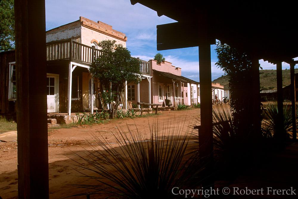 MEXICO, NORTH, DURANGO STATE Villa del Oeste, movie set 10K north of Durango, site of several of John Wayne's western films