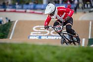 #210 (CHRISTENSEN Simone Tetsche) DEN at Round 2 of the 2020 UCI BMX Supercross World Cup in Shepparton, Australia.