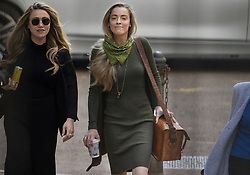 © Licensed to London News Pictures. 22/07/2020. London, UK. Whitney Heard (R) arrives at the High Court in London where Johnny Depp is in a legal dispute with UK tabloid newspaper The Sun over allegations he assaulted his former wife, Amber Heard. Photo credit: Peter Macdiarmid/LNP