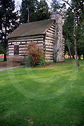 PA Historic Places, Franklin County, PA, James Buchanan Log Home