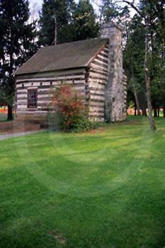 PA Historic Places, Franklin County, PA, James Buchanan Log Home
