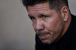 October 20, 2018 - Vila-Real, Castellon, Spain - Diego Pablo Simeone head coach of Atletico de Madrid looks on prior to the La Liga match between Villarreal CF and Atletico de Madrid at Estadio de la Ceramica on October 20, 2018 in Vila-real, Spain  (Credit Image: © David Aliaga/NurPhoto via ZUMA Press)