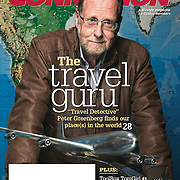 Peter Greenberg on the cover of Feb, 2016 Costco Connection lifestyle magazine. Photographed for Costco. <br /> <br /> To view or license images, click here: http://archive.toddbigelowphotography.com/gallery/Peter-Greenberg-for-Costco/G0000QV1bqKprVQM