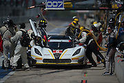 September 19, 2015: Tudor at Circuit of the Americas. #5 Barbosa, Fittipaldi, Action Express Chevrolet DP pitstop