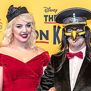 NLD/Scheveningen/20161030 - Premiere musical The Lion King, Emmaly Brown  en ...............