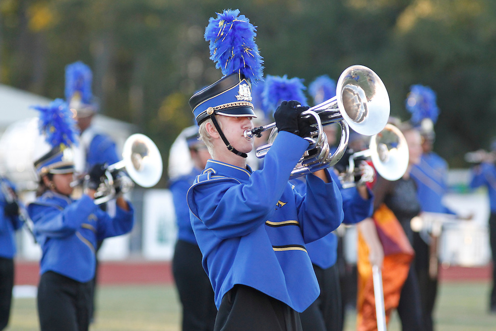 East Ascension High School marching band at Dutchtown Marching Festival. .