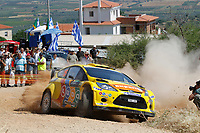 MOTORSPORT - WRC 2011 - ACROPOLIS RALLY - LOUTRAKI 16 TO 19/06/2011 - PHOTO : FRANCOIS BAUDIN / DPPI - <br /> 15 HENNING SOLBERG (NOR) / ILKA MINOR (AUT) - FORD FIESTA RS WRC - M-SPORT STOBART FORD WORLD RALLY TEAM - ACTION