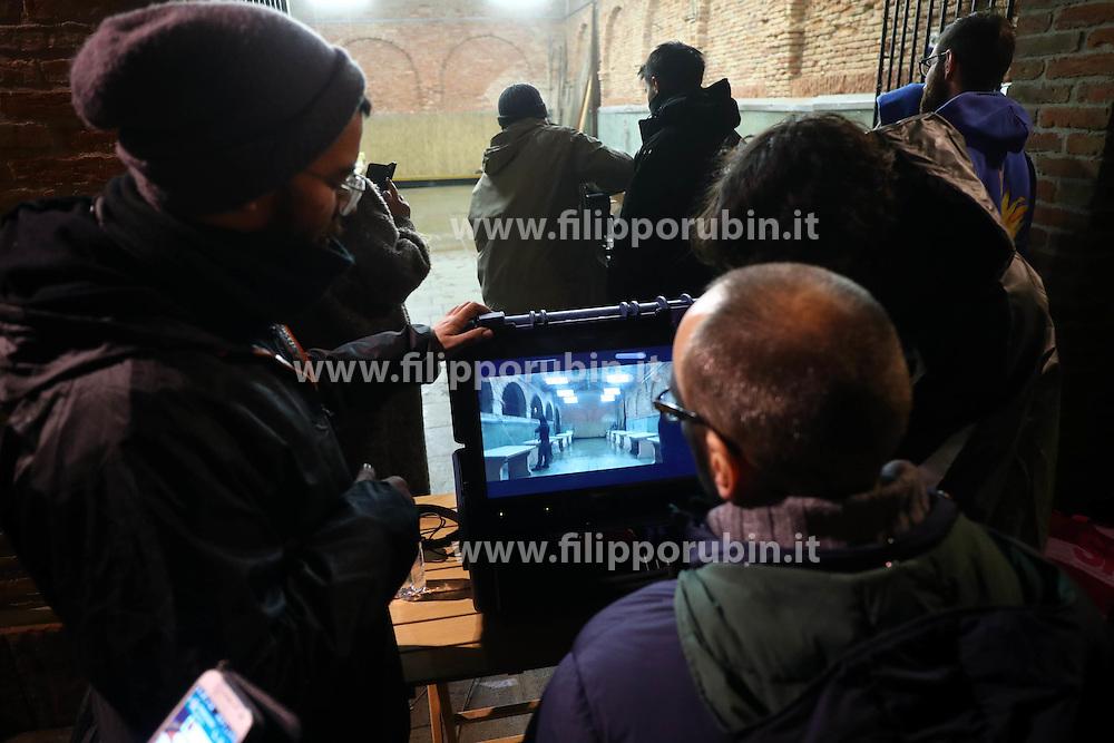 RIPRESE FILM LUCIO DALLA COMACCHIO ANTICA PESCHERIA