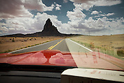 """Monument Valley in Utah, US route 163, driving a 1973 Ford Mustang...Images to illustrate the road and the people you meet along the way on a trip across the USA...A 4-weeks road trip across the USA, from New York to San Francisco, on the steps of Jack Kerouac's famous book """"On the Road"""".  Focusing on nomadic America: people that live on the move across the US, out of ideology or for work reasons."""