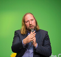 DEU, Deutschland, Germany, Berlin, 24.11.2018: Anton Hofreiter, Chairman of the Parliamentary Group of Alliance 90 / The Greens in the German Parliament. Council of the European Green Party (EGP council) at Deutsche Telekom Representative Office.