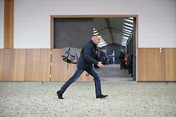 Les van de bondscoach, Rob Ehrens (NED)<br /> Stal Het Kleef - Sevenum 2015<br /> ©  Dirk Caremans