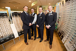 The official opening of the new Specsavers store at 70 St John Road, Corstorphine, Edinburgh.