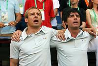 Bundestrainer Juergen Klinsmann, Joachim Loew<br /> Fussball WM 2006 Achtelfinale Deutschland - Schweden<br />  Tyskland - Sverige<br /> Norway only