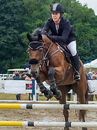 Jumper classes held on Labor Day at the Ludwig's Corner Horse Show.