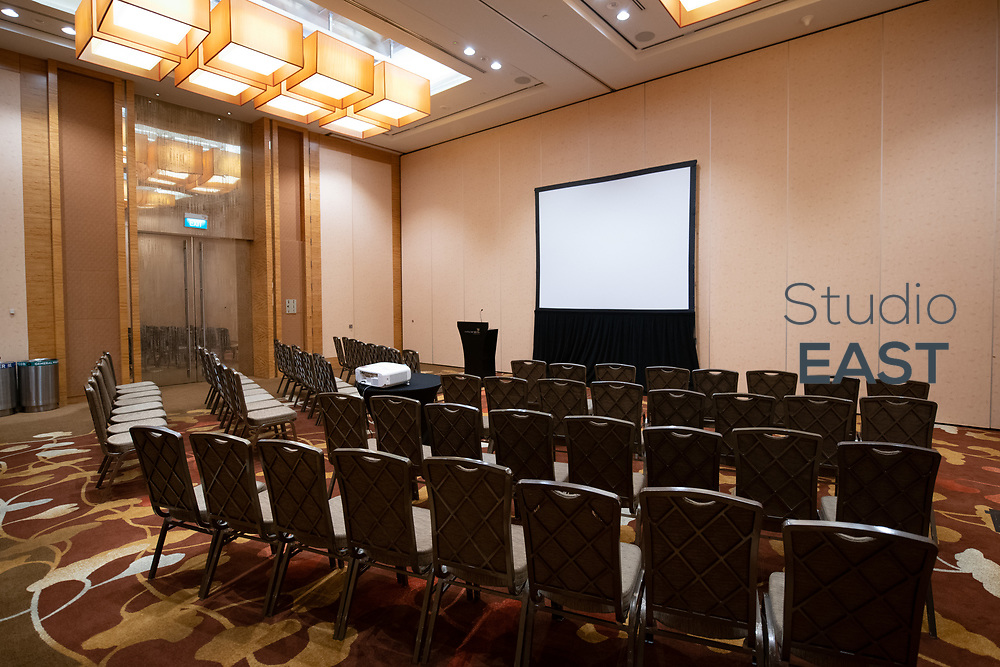 Set up during 2019 ASEAN Regulatory Summit in Marina Bay Sands Convention Center, Singapore, Singapore, on 8 May 2019. Photo by Lucas Schifres/Studio EAST