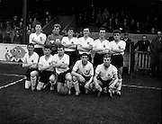 13/05/1960<br /> 05/13/1960<br /> 13 May 1960<br /> Soccer, Schoolboys International: Ireland v England at Tolka Park, Dublin. The game ended in a 2-2 draw. The English team.